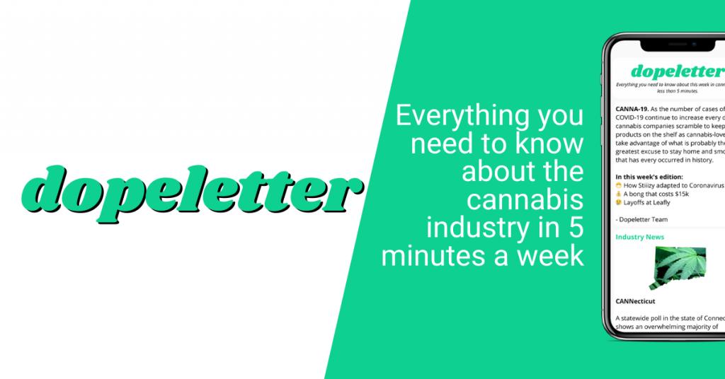 Dopeletter Cannabis Newsletter